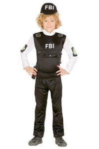 FBI ügynök gyerek jelmez